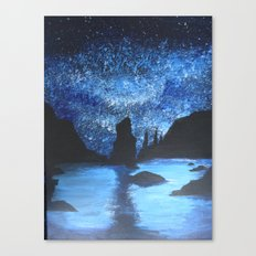 Starry Seas Canvas Print