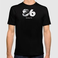 S6 Art Supplies Mens Fitted Tee Black SMALL