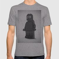 He's Seen A Million Mile… Mens Fitted Tee Athletic Grey SMALL
