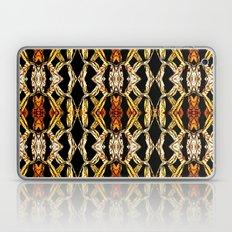 Elegant Oriental Pattern Black Gold Laptop & iPad Skin