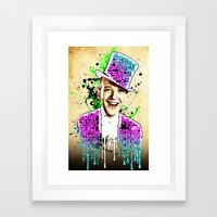 Fred Astaire, new steps.  Framed Art Print