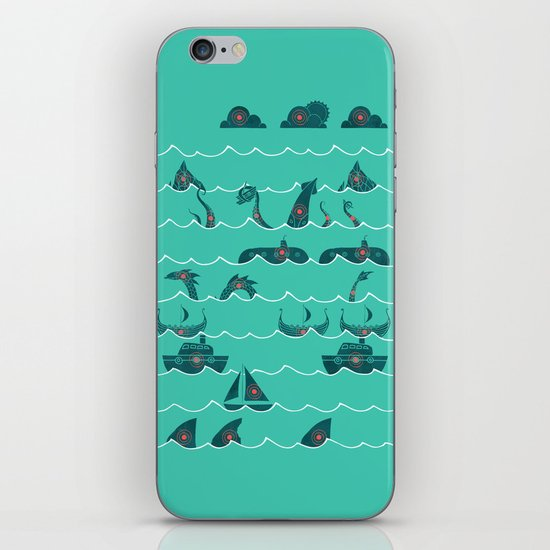Shooting Gallery iPhone & iPod Skin