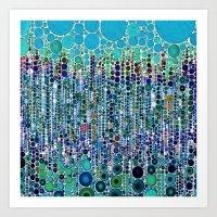:: Blue Raspberry Martin… Art Print