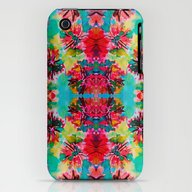 Tropical Floral iPhone (3g, 3gs) Slim Case
