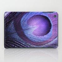 PURPLE PEACOCK iPad Case