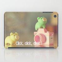 Click,click, Click ! iPad Case