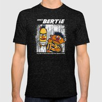 Here's Bertie Mens Fitted Tee Tri-Black SMALL