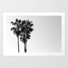Californian Suburbs Art Print