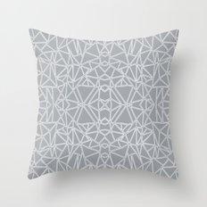 Ab Blocks Grey #3 Throw Pillow