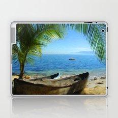 Boats at Las Caletas Laptop & iPad Skin