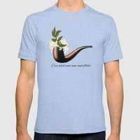 The Treachery Of Seagull… Mens Fitted Tee Tri-Blue SMALL