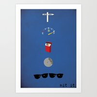 Blues Brothers - 106 Miles Art Print