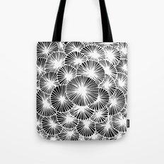 White Pinwheels Tote Bag