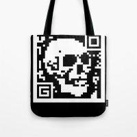 QR- Dead Tote Bag