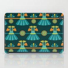 Columbian Bird Pattern iPad Case