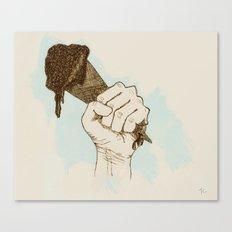 Cone Crusher Canvas Print