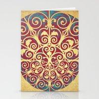 Medusa Barroca Stationery Cards