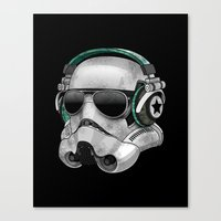 COOL TROOPER Canvas Print
