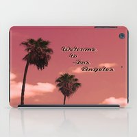 Welcome To Los Angeles iPad Case