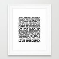 The Manifesto Framed Art Print