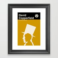 David Copperfield  Framed Art Print