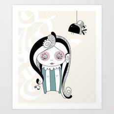 isuoiamici (her friends) Art Print