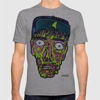 elp Mens Fitted Tee Athletic Grey SMALL