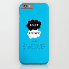 DFTBA TFIOS Nerdfighter Vlogbrothers Don't Forget to be Awesome, The Fault in Our Stars, John Green iPhone 6s Slim Case