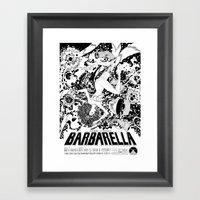 Barbarella Framed Art Print