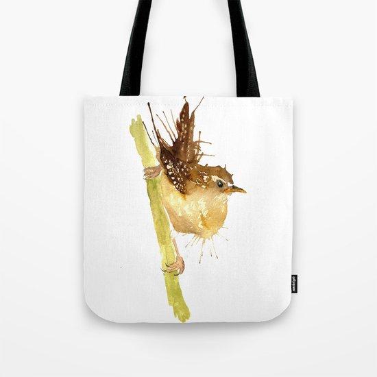 Mrs Wren Tote Bag