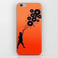 a boy & his music iPhone & iPod Skin