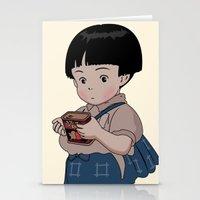 Grave of the Fireflies (Hotaru no haka) Stationery Cards
