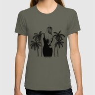 Come Into My World Womens Fitted Tee Lieutenant SMALL