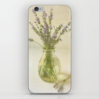 Lavender And Milk iPhone & iPod Skin
