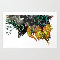 Approaching Storm - Deta… Art Print