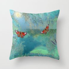 LANDSCAPE-The Pond Throw Pillow