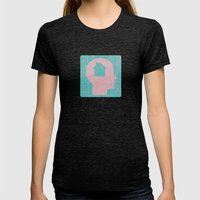 Home Womens Fitted Tee Tri-Black SMALL