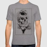 The Laughing Dragon Mens Fitted Tee Athletic Grey SMALL