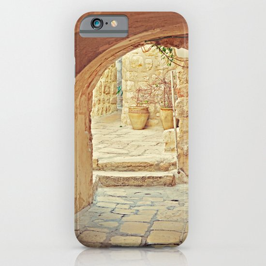 Jerusalem Courtyard iPhone & iPod Case