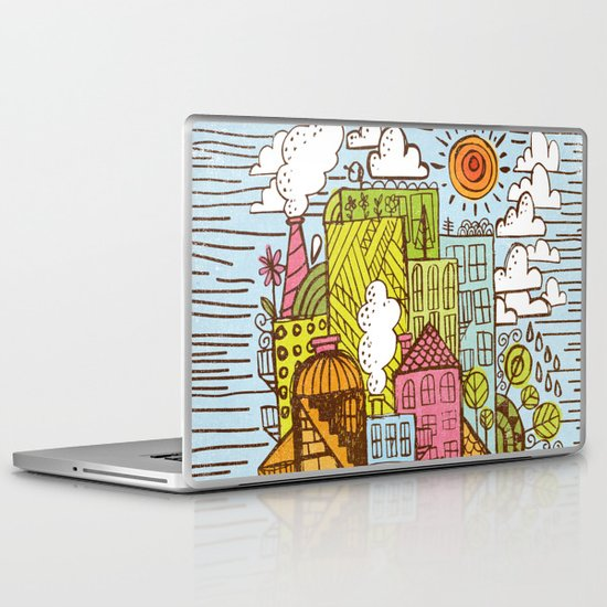 BUILD UP  Laptop & iPad Skin