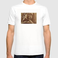 the roots part 3! SMALL White Mens Fitted Tee