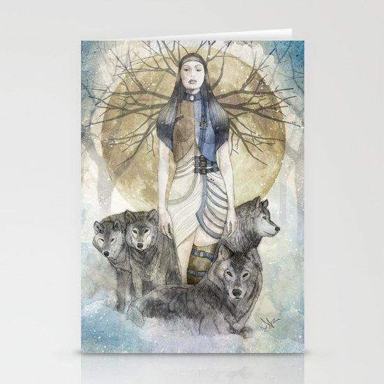 Five Souls Stationery Card