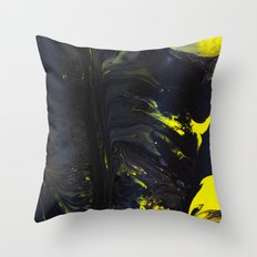 Gravity Painting 19 Throw Pillow
