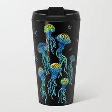 Swirly Jellyfish Travel Mug