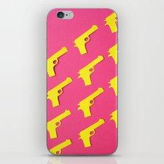 Guns Papercut iPhone & iPod Skin