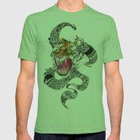 RAWR Mens Fitted Tee Grass SMALL