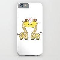 Giraffes In Love iPhone 6 Slim Case