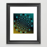 Magic Circle Framed Art Print