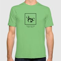 Cancer: The Crab Mens Fitted Tee Grass SMALL