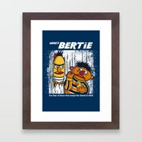 Here's Bertie Framed Art Print